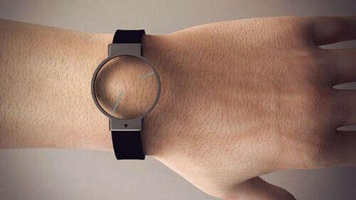 Прозрачные часы