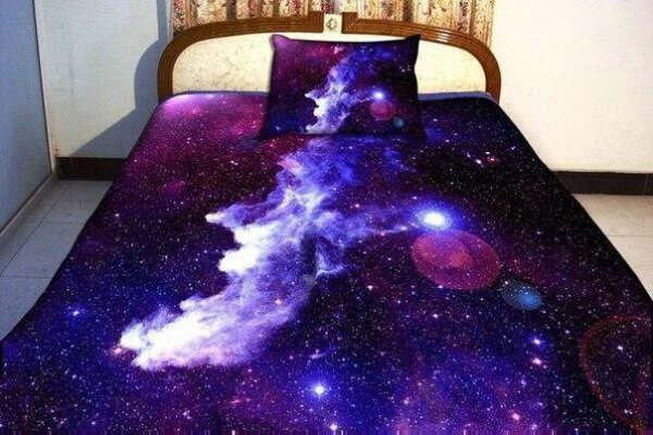 Космическое постельное бельё