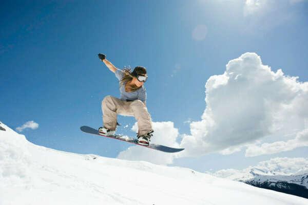 Научится кататься на сноуборде