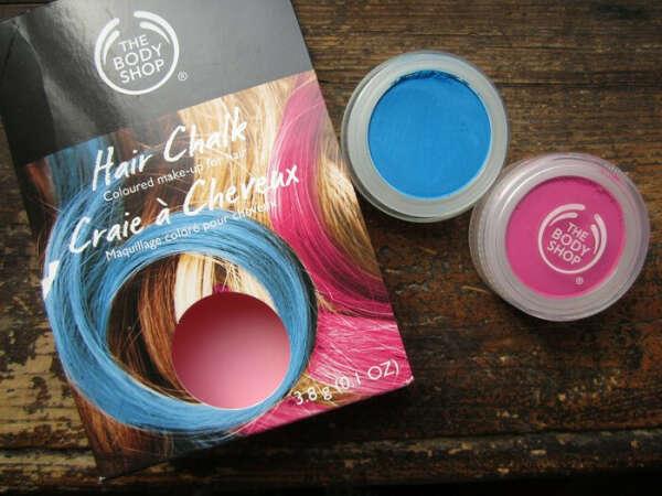Цветные мелки для волос The Body Shop Hair Chalk