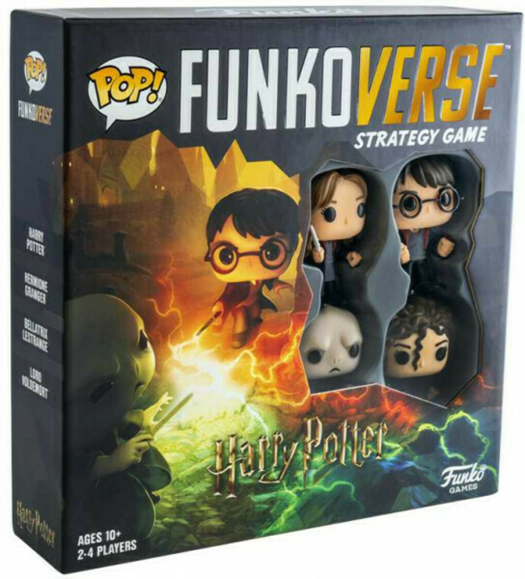 Настольная игра Funkoverse Strategy Game: Harry Potter 100