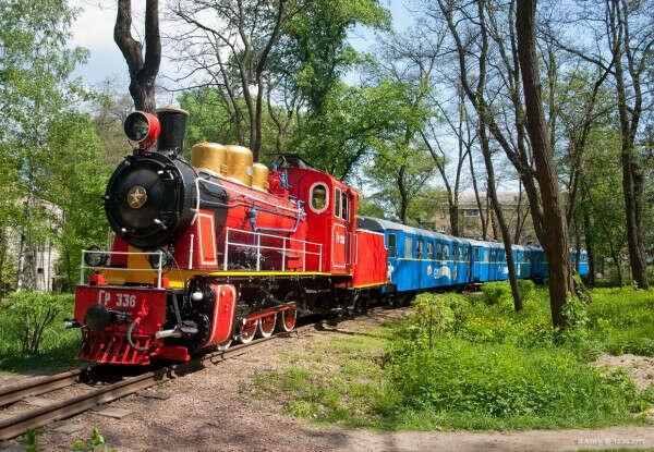 На детскую железную дорогу