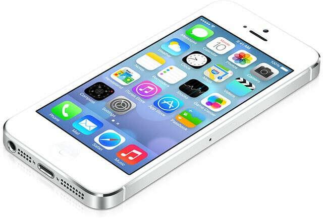 Сотовый телефон APPLE iPhone 5S - 16Gb Silver