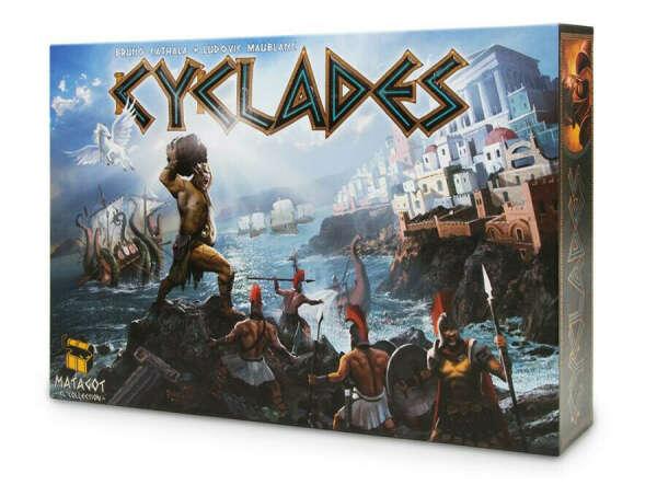 Настольная игра Киклады (Cyclades) с дополнением Аид (Hades)