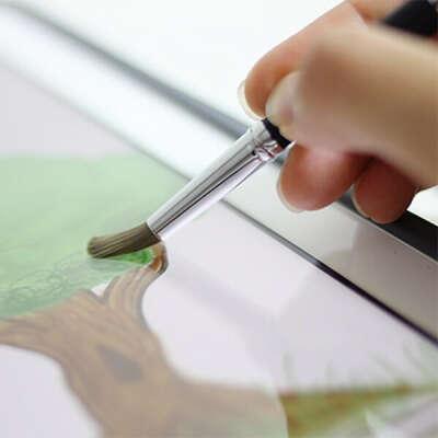 Кисть для iPad