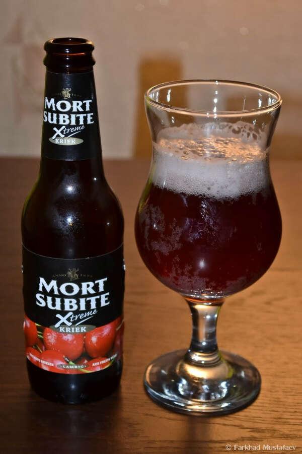 Вишневое пиво Mort Subite