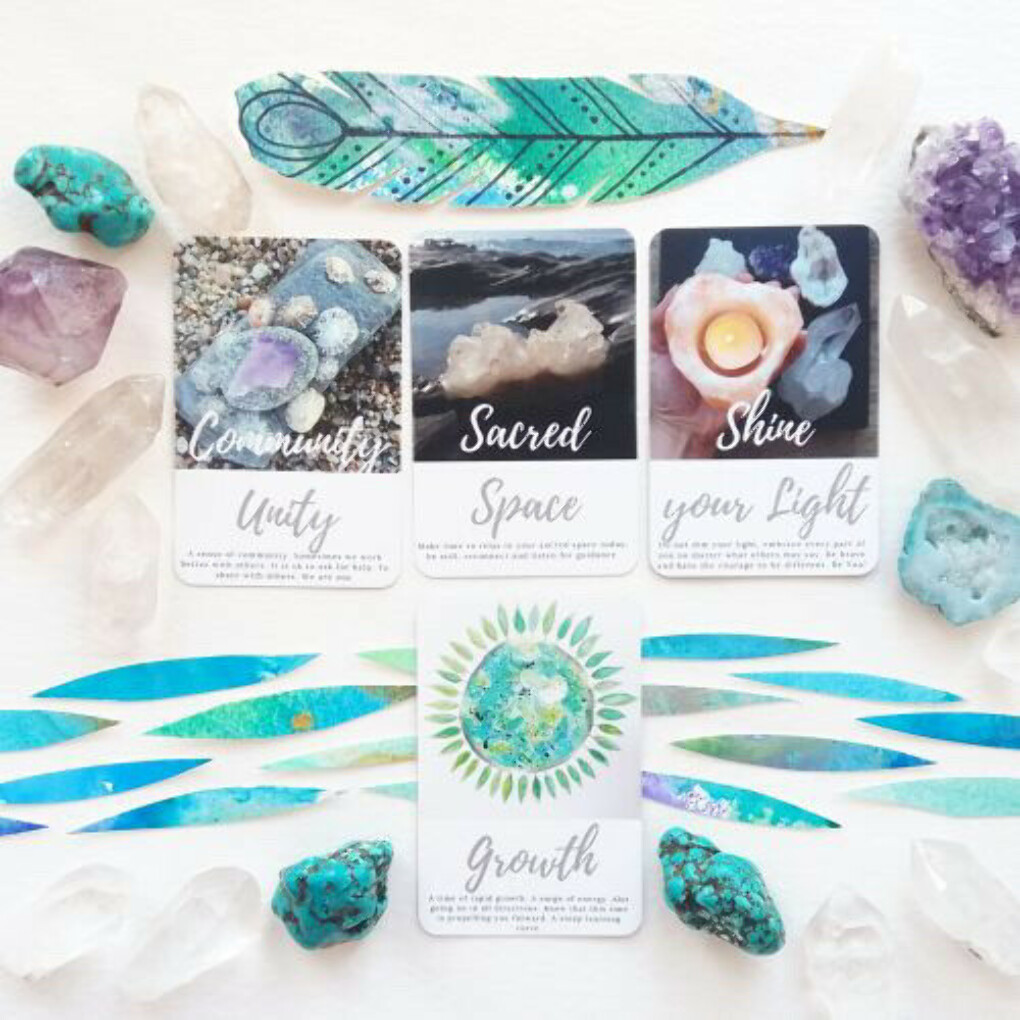 Sacred Wild Soul Oracle deck