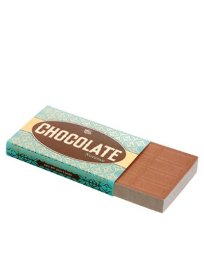Блокнот в виде плитки молочного шоколада
