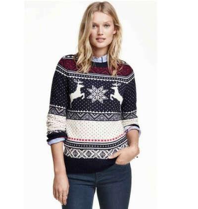 Новогоднй свитер