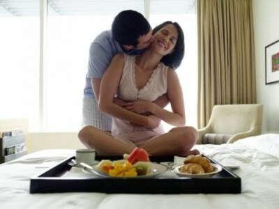 завтрак в постель от любимого