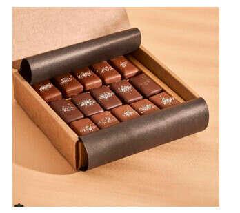 Солёная карамель в молочном шоколаде Mojo Cacao