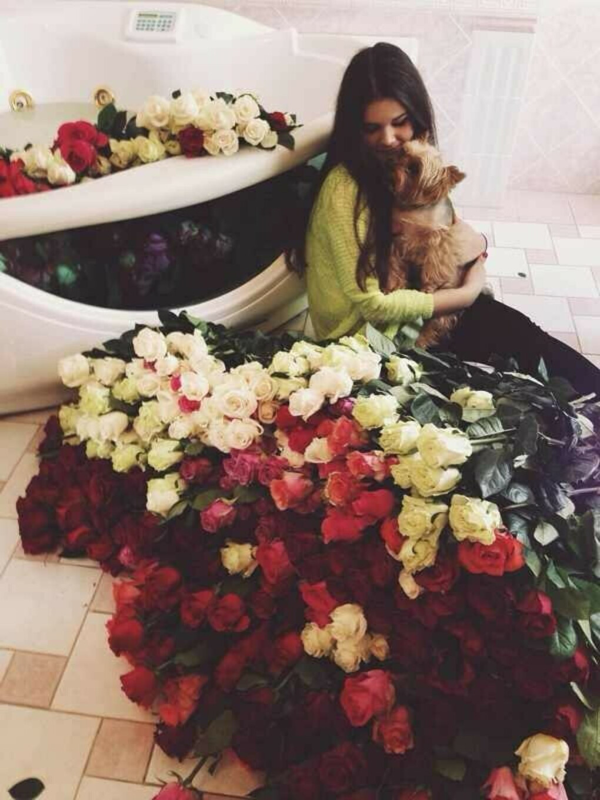 Получить много-много цветов