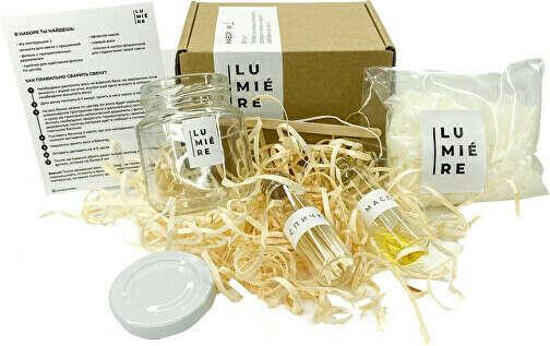 Lumiere | Соевые свечи и наборы для изготовления свечей