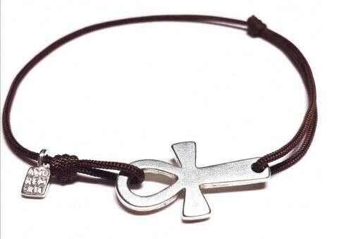 Веревочный браслет Анкх
