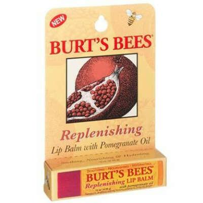 Бальзам для губ Burt's Bees Pomegranate Lip Balm (Гранатовое масло)