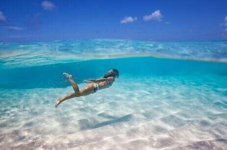 на карибское море.....