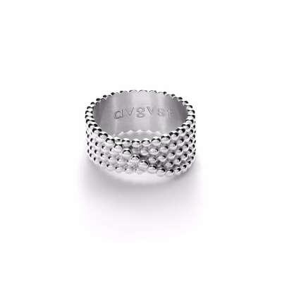 Кольцо Complicated из серебра, из коллекции Paillettes