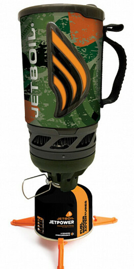 Комплект горелка с кастрюлей Jetboil Flash Jetcam