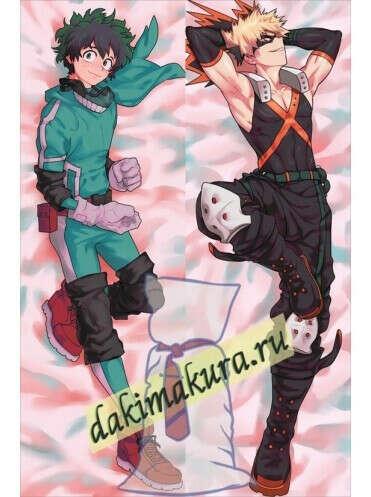 My Hero Academia; Моя геройская академия: Кацуки Бакугоу и Изуку Мидория