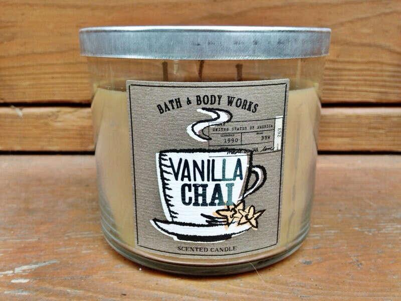 Vanilla chai candle, Bath & Body Works