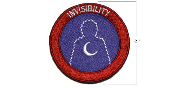 Night Vale Boy Scouts Invisibility Patch