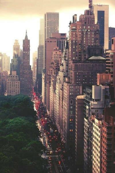 Месяц в Нью-Йорке