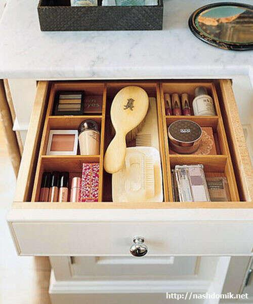 Упорядочить организацию и хранение вещей