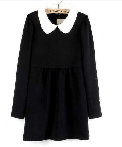 Черно-белое платье!