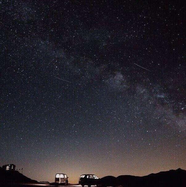 Увидеть падающую звезду и успеть загадать желание