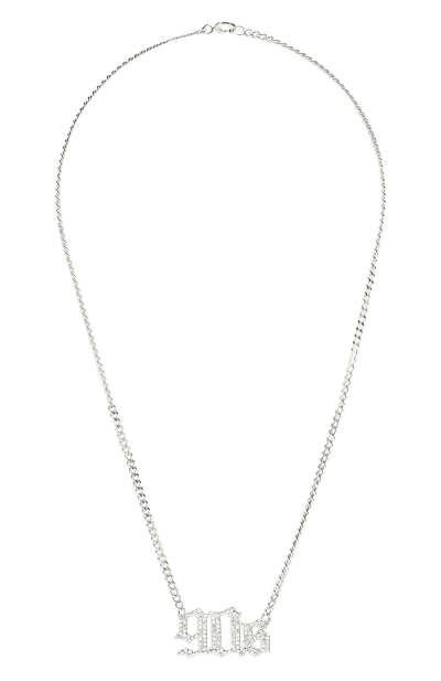 Женское серебряное колье 90s LEVASHOVAELAGINA — купить за 15180 руб. в интернет-магазине ЦУМ, арт. 90s/n