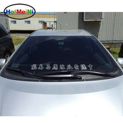 """Car Styling Stay Humble 35"""" 90cm JDM Japanese Car Sticker Vinyl Graphics Decal Front Windshield Stickers Accessories"""
