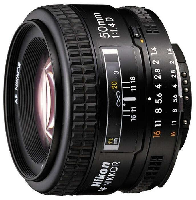 Nikon50mm f/1.4D AF Nikkor