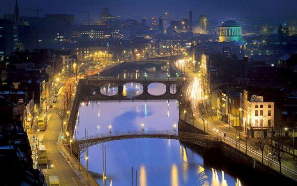 Отправиться в Дублин,Ирландия