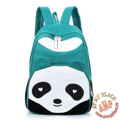 "Бирюзовый рюкзак ""Панда"""