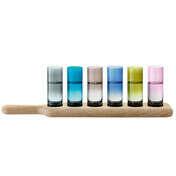 Набор стопок Oak Paddle - Multicolor
