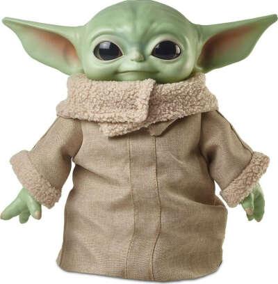 Фигурка плюшевая Star Wars Мандалорец Малыш GWD85