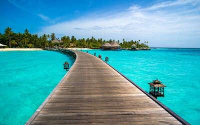 Романтическое путешествие на Мальдивы