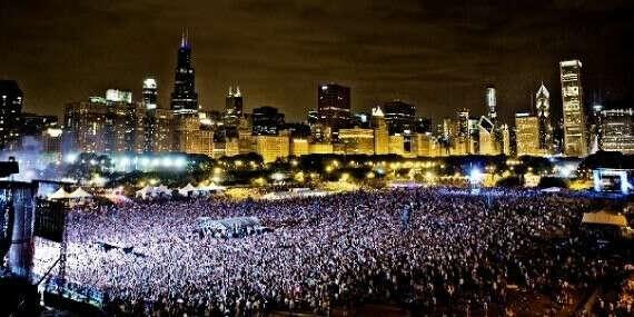 Попасть на lollapaloosa в Чикаго США