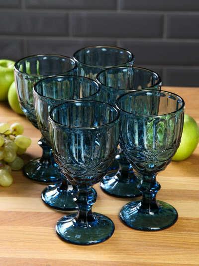 Цветные бокалы для вина-шампанского