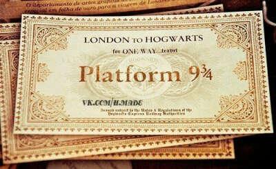 Билеты в Хогвартс