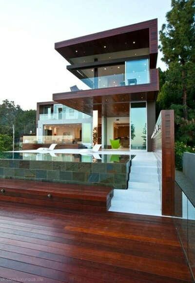 Я хочу жить в роскошном коттедже.