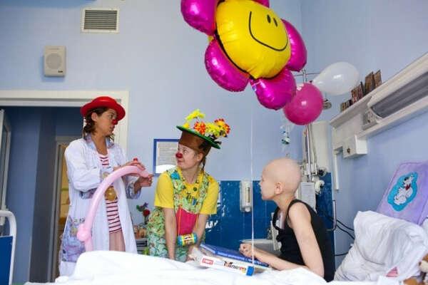 Сделать праздник для деток в больнице
