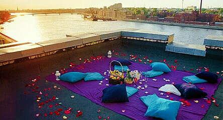 Романтик на крыше