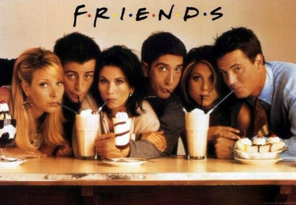 Досмотреть сериал Friends