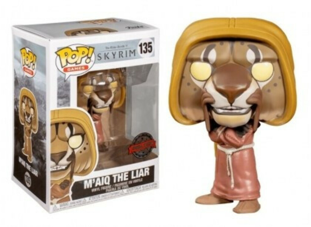 Funko Pop! Фигурка Майка Лжеца из игры The Elder Scrolls V: Skyrim