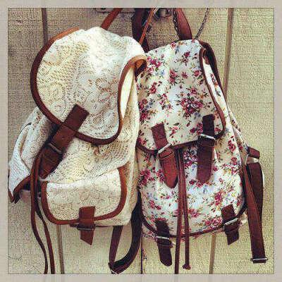Кружевной рюкзак