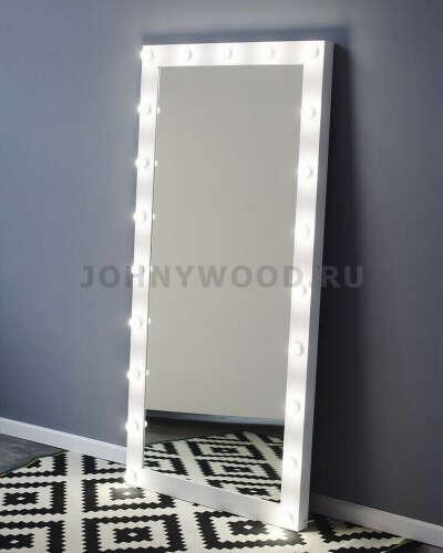 Ростовое зеркало с подсветкой