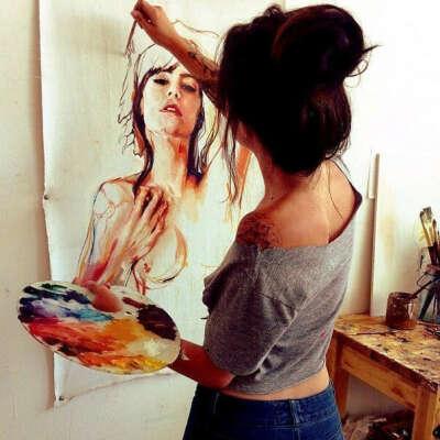 Научится рисовать