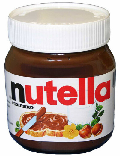 Большая банка Nutella (630 г)