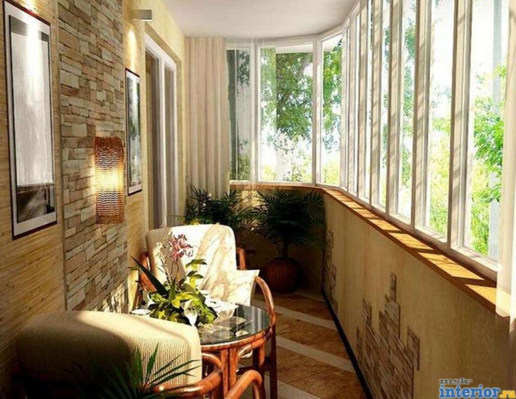 Уютная лоджия в своей квартире